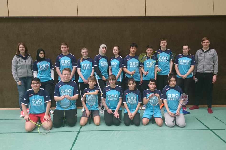 Die Badminton-Teams